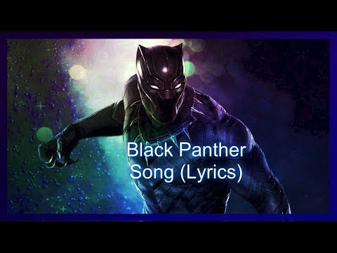 Black Panther Song (Lyrics) |Respect My Throne| [By Nerdout]