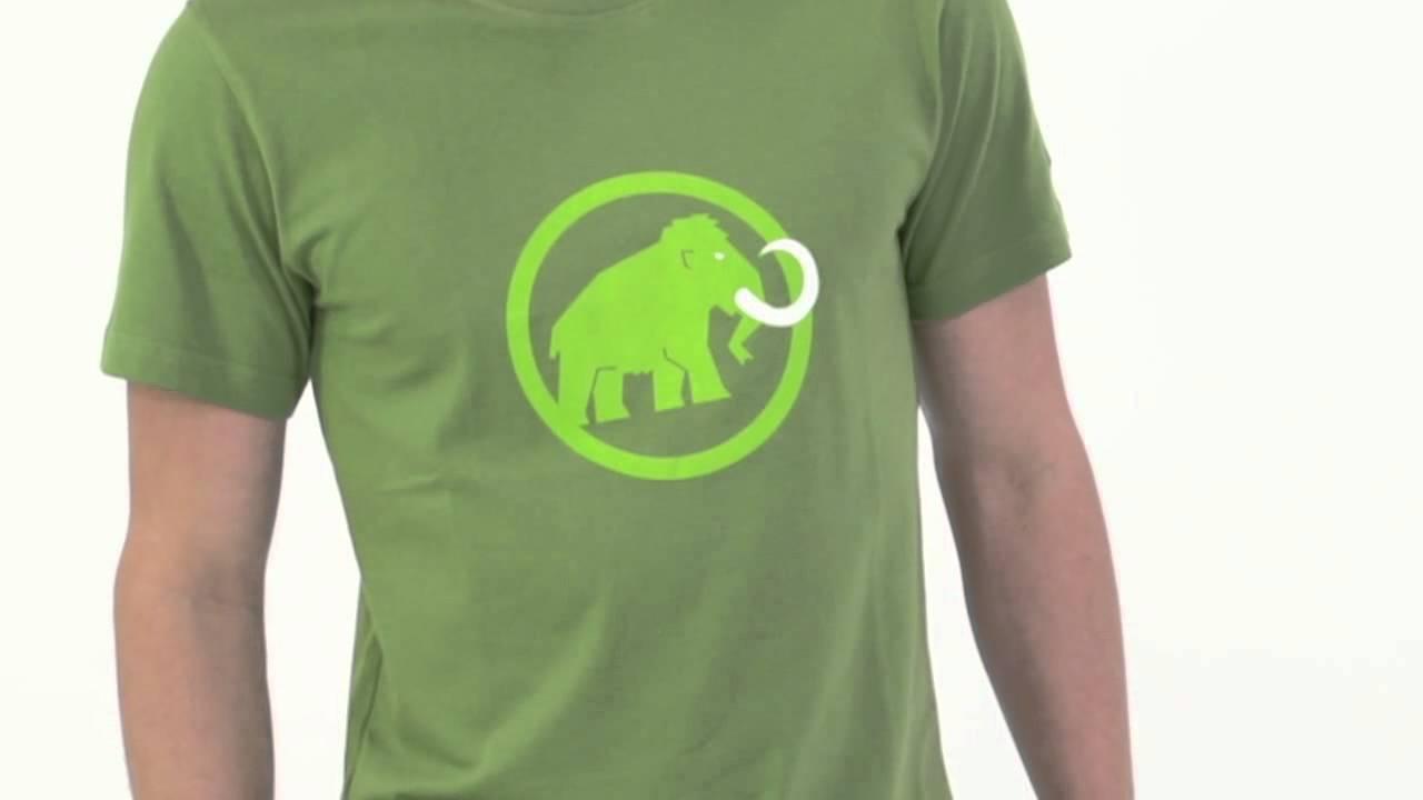 mammut men 39 s mammut logo shirt youtube. Black Bedroom Furniture Sets. Home Design Ideas