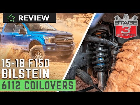 2015-2018 F150 4WD Bilstein 6112 Front Suspension Review On & Off-Road