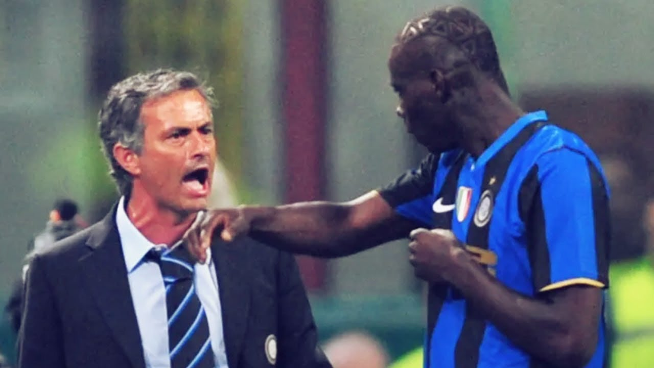 The Day Mario Balotelli Refused To Go To A Meeting With Jose Mourinho Oh My Goal Youtube
