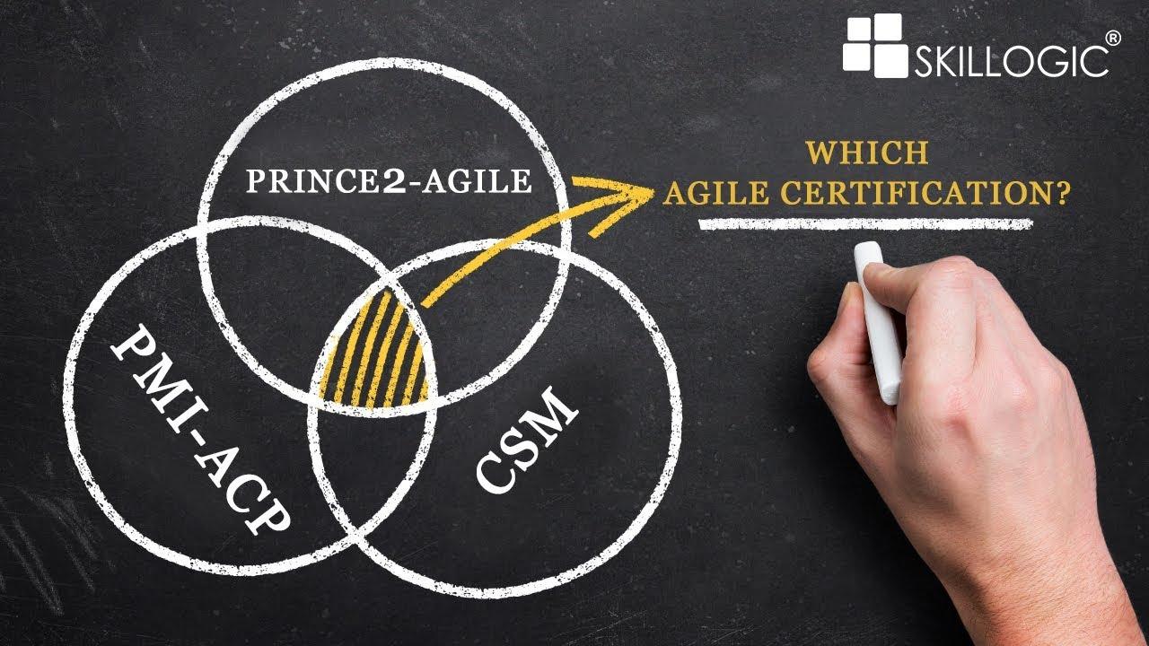 Agile Certification Pmi Acp Vs Csm Vs Prince2 Agile By Skillogic