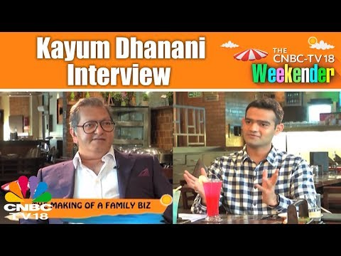 Weekender | An Exclusive Conversation with Kayum Dhanani of Barbeque Nation | CNBC TV18