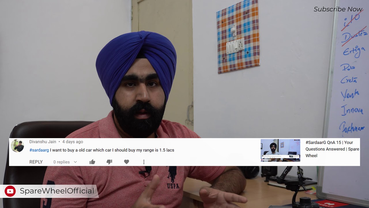 Download #SardaarG QnA #17   Your Questions Answered   Spare Wheel
