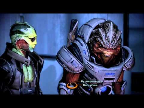 Mass Effect 2 - Looking for Samara - Thane Gets Smart