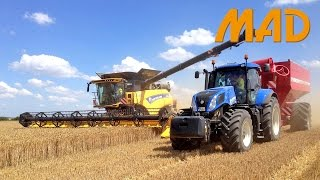 New Holland CR10.90: the biggest CR combine