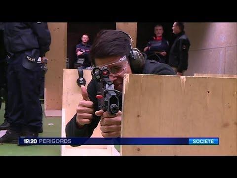 """Formation spéciale """"tuerie de masse"""" à l'école de police de Périgueux"""