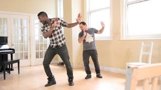 Beginner Step with a Bass Beat | Step Dance