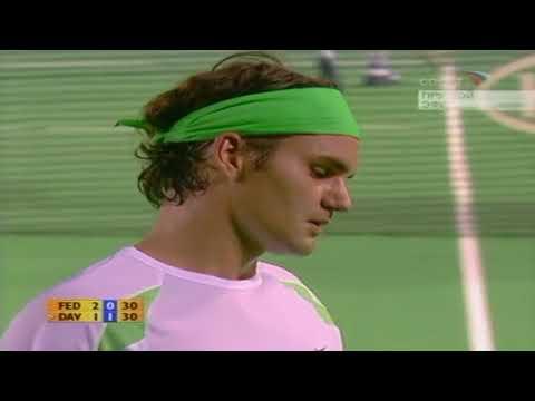 50FPS Roger Federer - Nikolay Davydenko Australian Open 2006