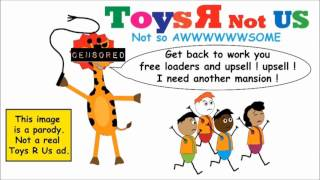I used to work at toysrus