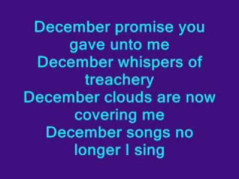 Collective soul - December - Lyrics