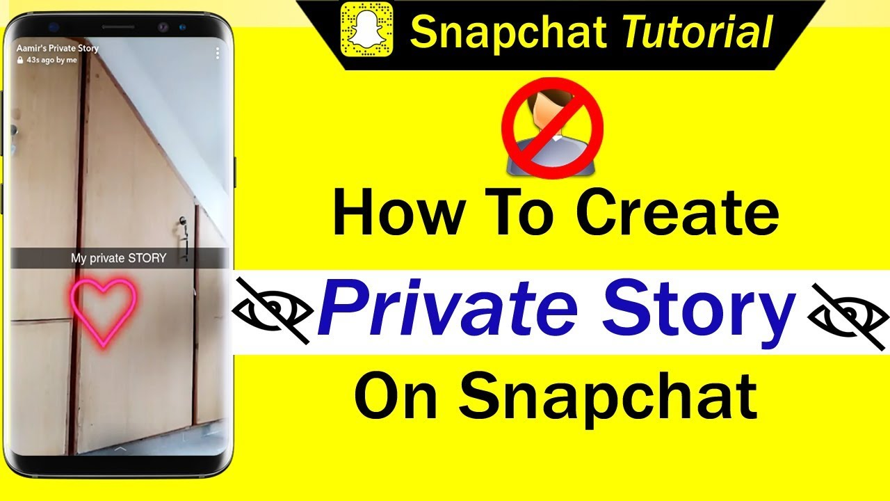 How To Create Private Story On Snapchat Youtube