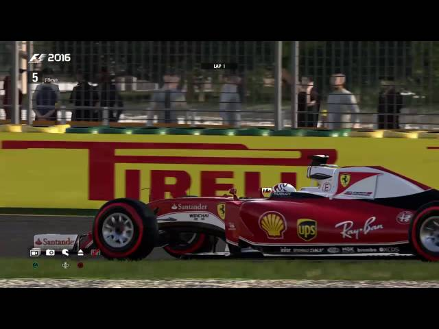 2016 GP2 Australian GP (Whole Race) racestation.net