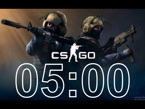 Counter-Strike Global Offensive (CSGO) - 5 Minute Timer