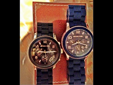 35ce49df19e3 How to tell if your Michael Kors watch is real - YouTube