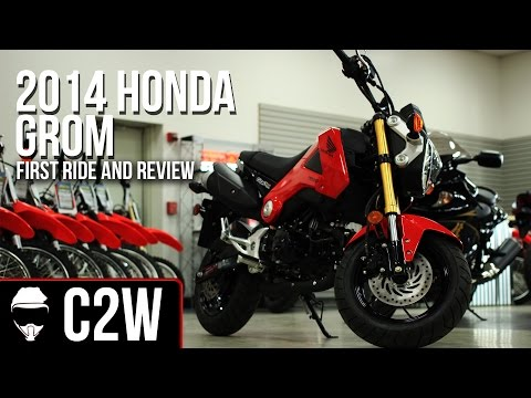 2014 Honda Grom – First Ride and Review