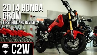 2014 Honda Grom - First Ride and Review