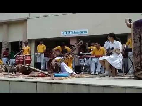 inter house orchestra competition 2015-16 --yellow house - youtube
