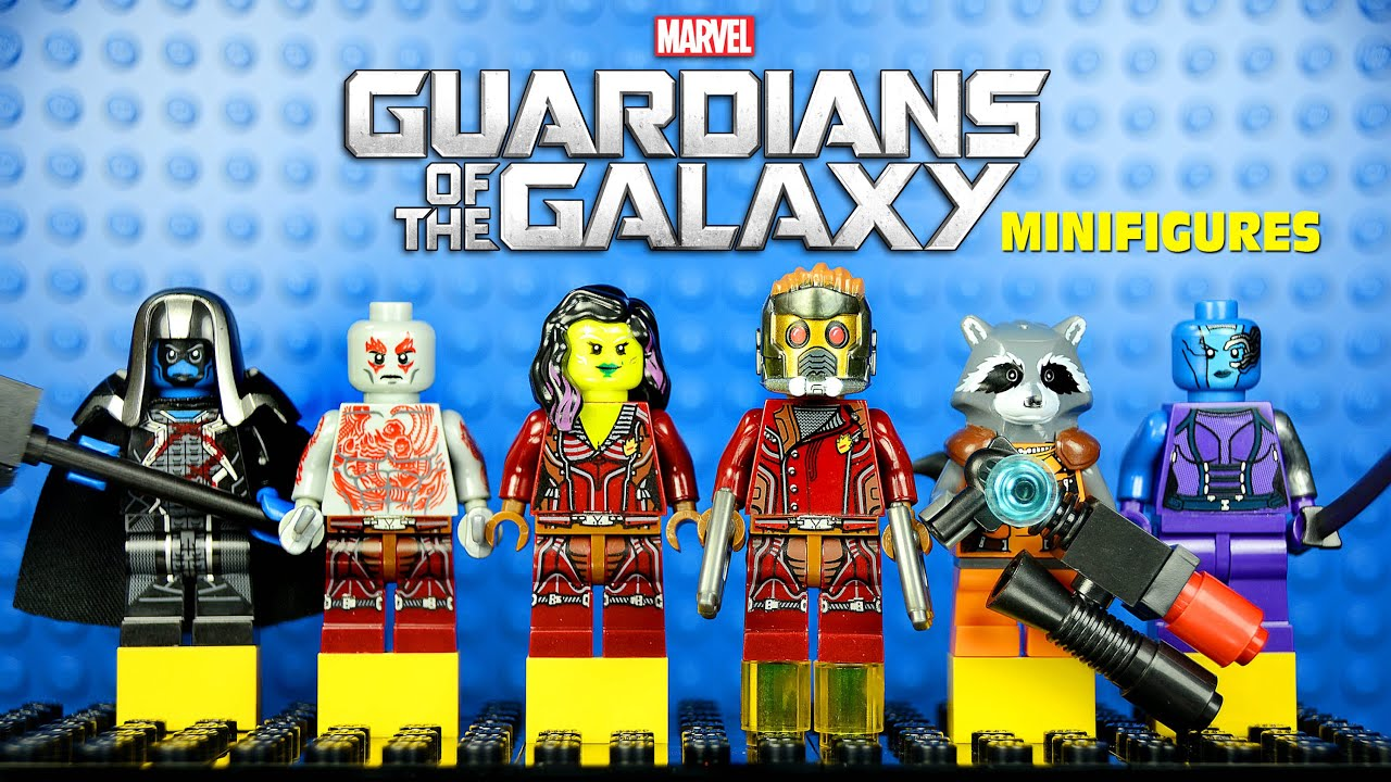 Guardians Of The Galaxy 2014 Gamora LEGO Guardians of the ...