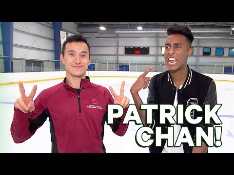 Patrick Chan Skating Lesson!