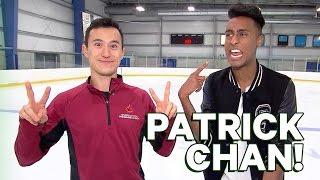 Patrick Chan Skating Lesson!