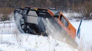 RUSAK-3918. Three hundred kilometers of snow