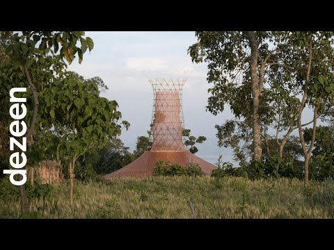 Warka Water towers harvest drinkable water from the air | Design | Dezeen