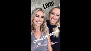 Christina El Moussa LIVE! Bronze Smokey Eye Tutorial!