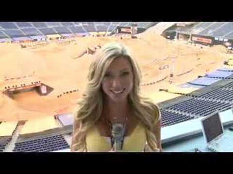 Amanda duces the 08 Moto X World Championships by ESPN