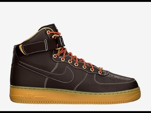 pretty nice ca74c e75f3 Unboxing   unpacking Nike Air Force High  07 Timberland look - YouTube