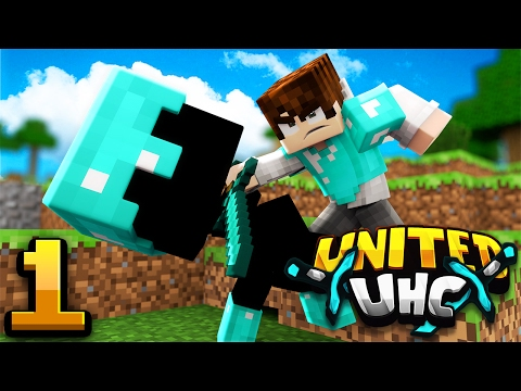 18 GOLD in SECONDS! (Minecraft United UHC S1: E1)
