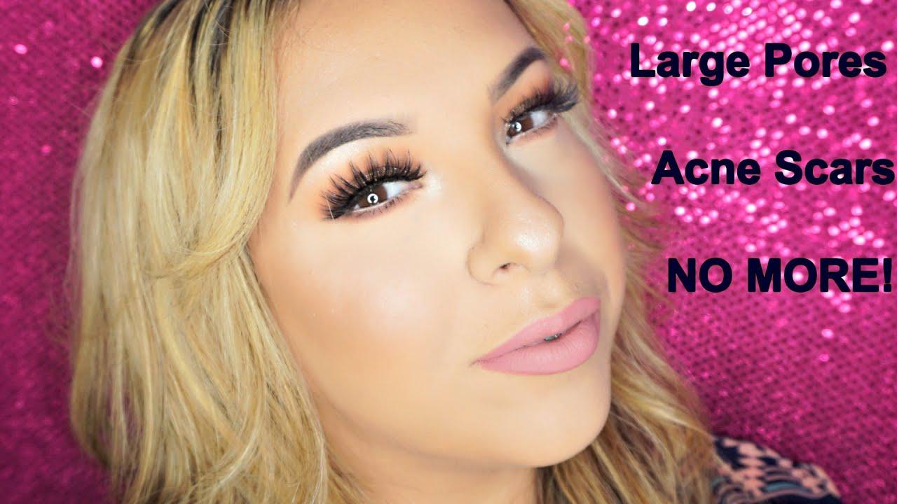 how to close large pores