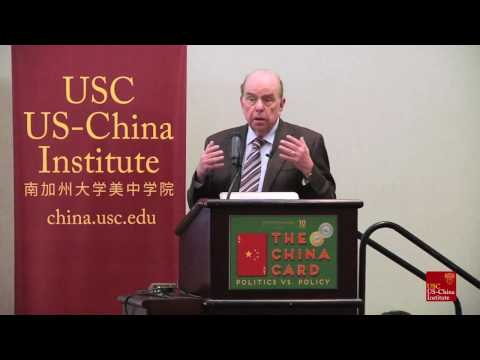 Robert Shrum Speaks At The China Card Conference