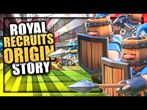 How the Villagers became the Royal Recruits - Clash Royal Recruits Origin Story | Royal Family Ep. 1