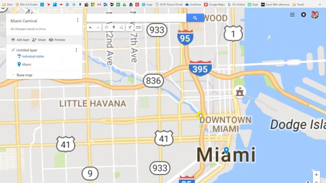 Google Maps Miami Carnival Tutorial - YouTube