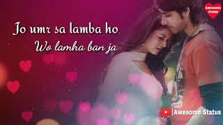 Jo umr se lamba ho lamha ban jao yun bhi kabhi mujhse milo