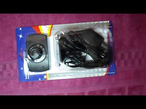 Обзор видеорегистратора XJG30 купленного в магазине светофор