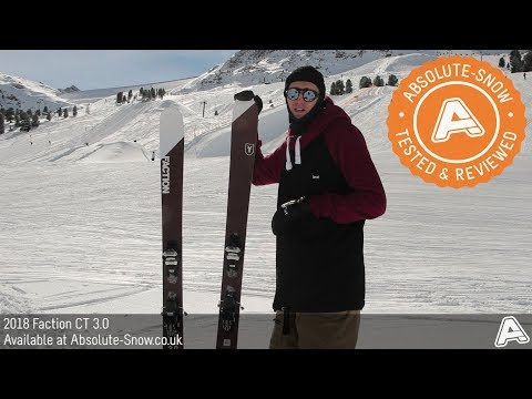 2017 / 2018 | Faction CT 3.0 Skis | Video Review