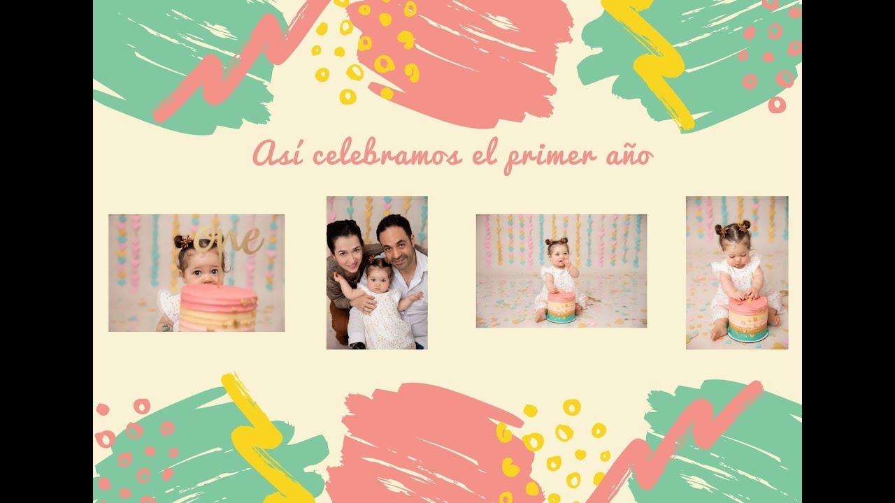 Así celebramos el primer año de mi hija en Colombia