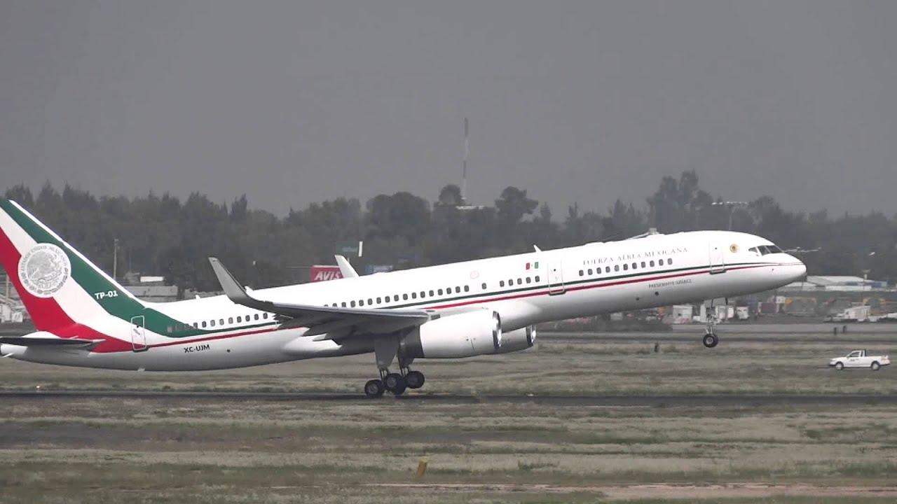 Avion Presidencial Ap 01 Mexico Youtube