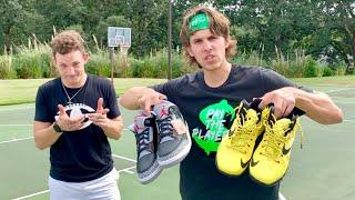 D1 Hooper vs D3 Quarterback For $1000 Shoes!
