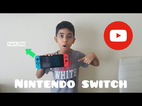 Unboxing the Nintendo Switch(My first video) |