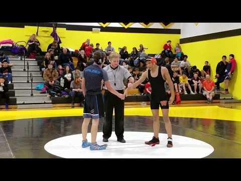 Cons. Round 2 - Myles Harrison (West Anchorage) vs. Connor Britt (Valdez High School)