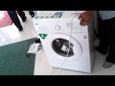 Instalasi Mesin Cuci LG Direct Drive (6 Motions)