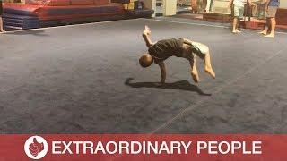 Boy Ninja Performs Incredible Karate Moves