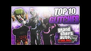 GTA 5 Online: TOP 10 GLITCHES! - After Patch 1.41 (Best GTA V Glitches)