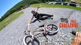 DOWNHILL HIGH SPEED FAKIE CHALLENGE!