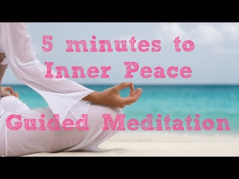 5 Minute Guided Meditation for Inner ✨Peace and Calm✨