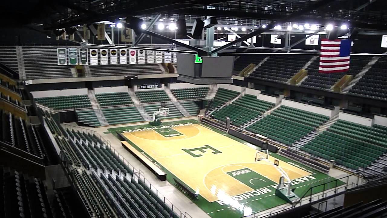 Eastern Michigan Basketball Arena - YouTube