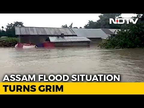 17 Assam Districts Flooded; No Ferry Services As Rivers Abov