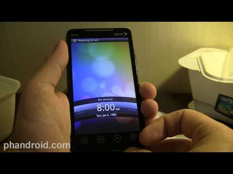 HTC EVO 4G Unboxing - Phandroid.com